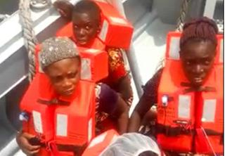 Navy rescue - Amazing!!! Navy rescues two-month-old baby from drowning