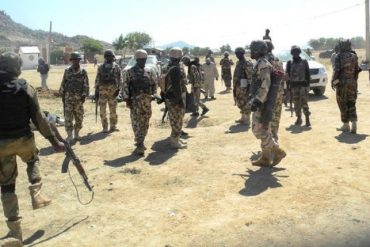 Supplementary Election: Soldiers Prevent Violence In Benue