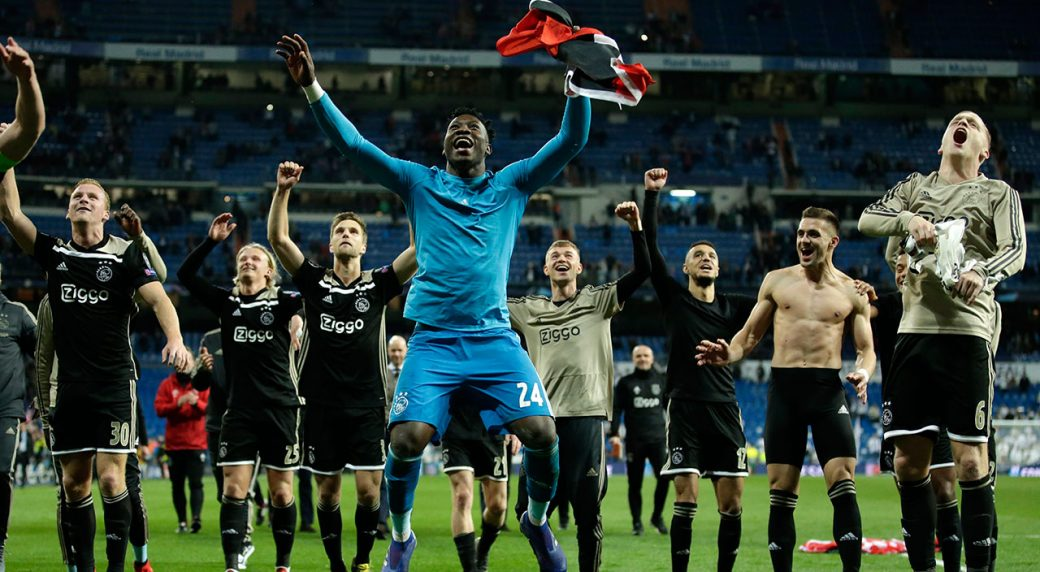 Soccer Ajax players celebrate after defeating Real Madrid 1040x572 - Sport Paper Review: All you Need To Know About Sports Today