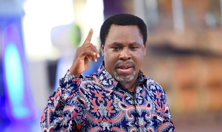 TB e1553366813640 - 'Pray For Nigeria, For Peace And Harmony' – Prophet TB Joshua