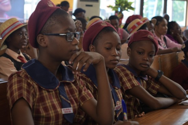 TECNOxIWw - #BALANCEFORBETTER: TECNO MOBILE CELEBRATES INTERNATIONAL WOMEN'S DAY WITH STUDENTS