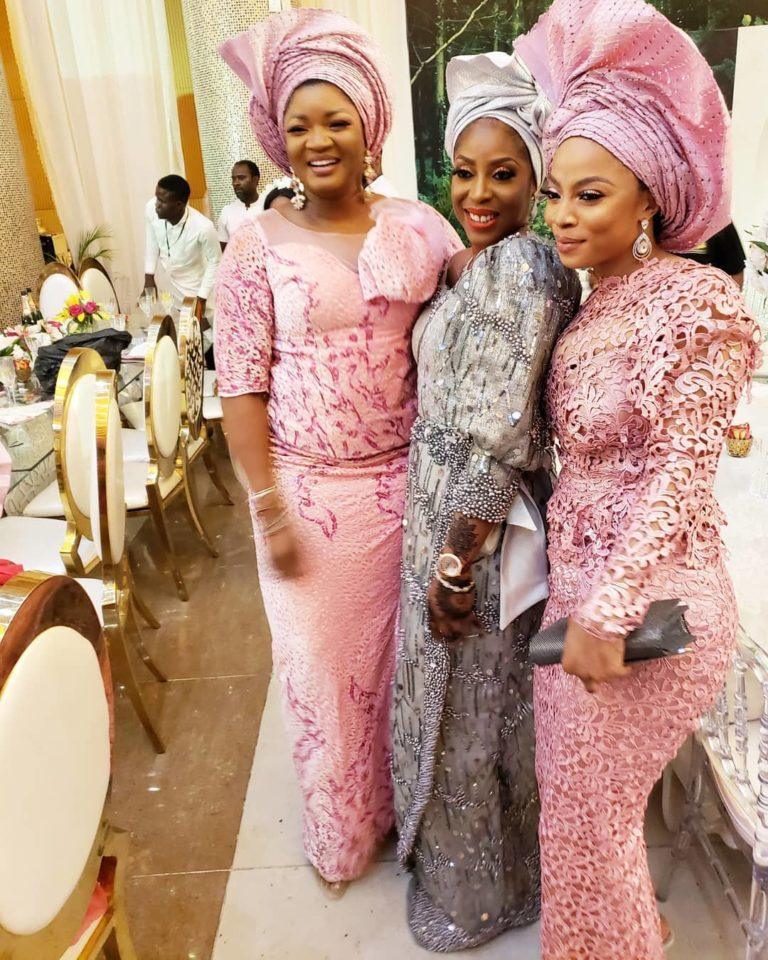 Temidayo Ted Abudu Adebola Makanjuola Traditional Engagement AsoebiBella BellaNaija 14 768x960 - [Beautiful Photos]: Asoebi Guests At Media Mogul, Mo Abudu's Daughter's Wedding