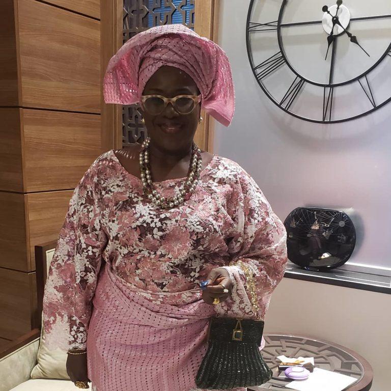Temidayo Ted Abudu Adebola Makanjuola Traditional Engagement AsoebiBella BellaNaija 16 768x768 1 - [Beautiful Photos]: Asoebi Guests At Media Mogul, Mo Abudu's Daughter's Wedding