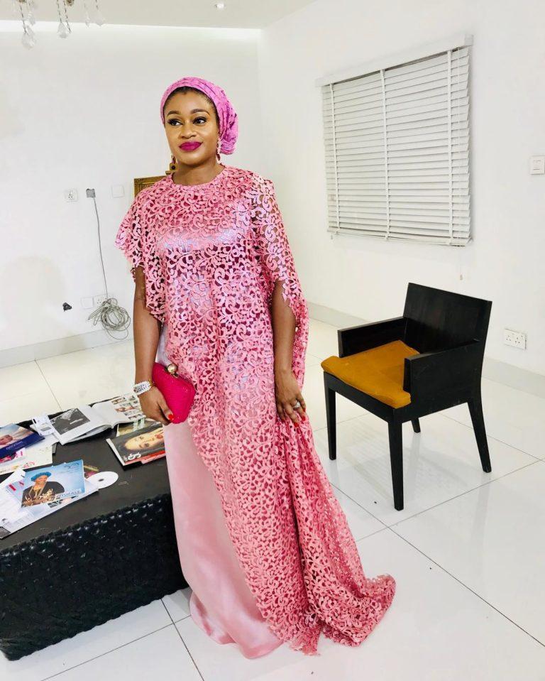 [Beautiful Photos]: Asoebi Guests At Media Mogul, Mo Abudu's Daughter's Wedding
