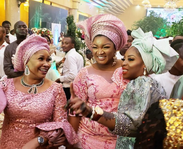 Temidayo Ted Abudu Adebola Makanjuola Traditional Engagement AsoebiBella BellaNaija 9 768x960 e1553583042124 - [Beautiful Photos]: Asoebi Guests At Media Mogul, Mo Abudu's Daughter's Wedding