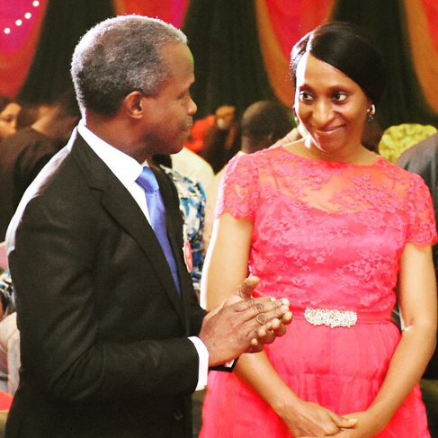 My dear Dolapo with you I'm ready for another 4 years - Osinbajo