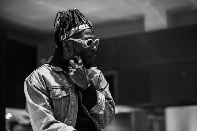 burnaboi - Burna Boy apologizes for kicking fan during concert in Zambia
