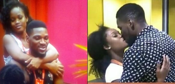 #BBNaijaReunion: Tobi And Cee-C Talk About Their First Kiss In The House