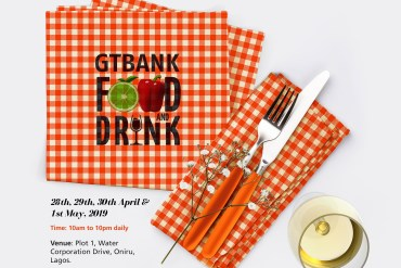 The 2019 GTBank Food and Drink Festival Is Here Again!