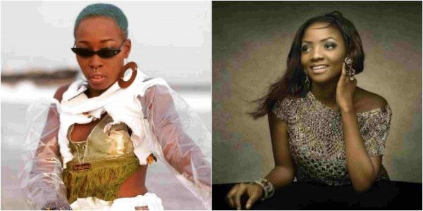 l - Nigerian model with tribal Marks, Adetutu, slams Simi over her #Fvckyouchallenger version