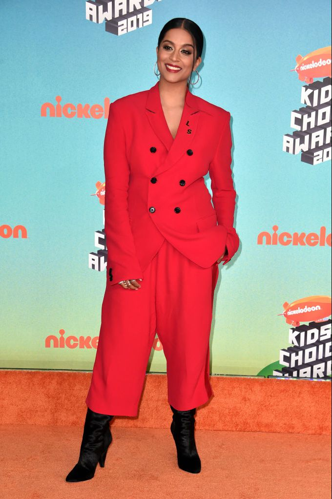 lilly singh attends nickelodeons 2019 kids choice awards at news photo 1137842326 1553387114 - 2019 Kids' Choice Awards: See photos from the orange carpet [Photos]