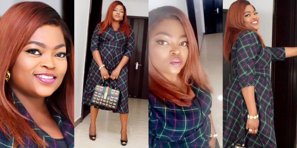 Funke Akindele-Bello Celebrates Mother's Day With A Beautiful Dance Video With Her Twin Sons