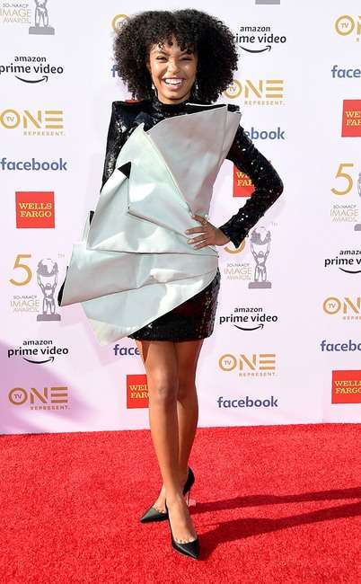 rs 634x1024 190330182204 634 Yara Shahidi GettyImages 1133901977 - [Photos]: 2019 NAACP Awards: Checkout some of the best dressed celebrities on the red carpet