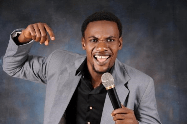 [Photo]: Comedian MC Shakara involved in ghastly car accident
