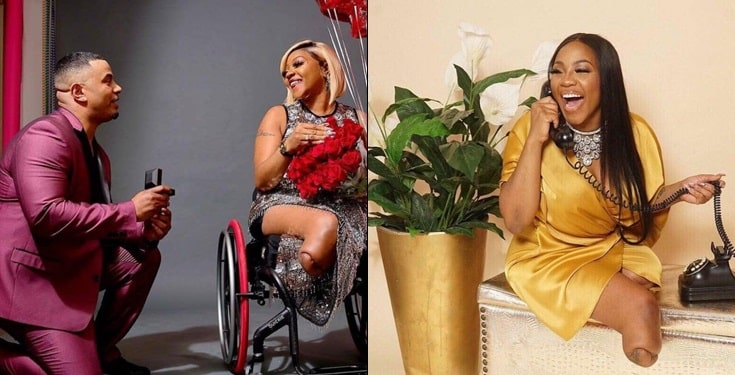 1 8 - Tears As Man Proposes To His Physically Challenged Girlfriend Of 17 Years
