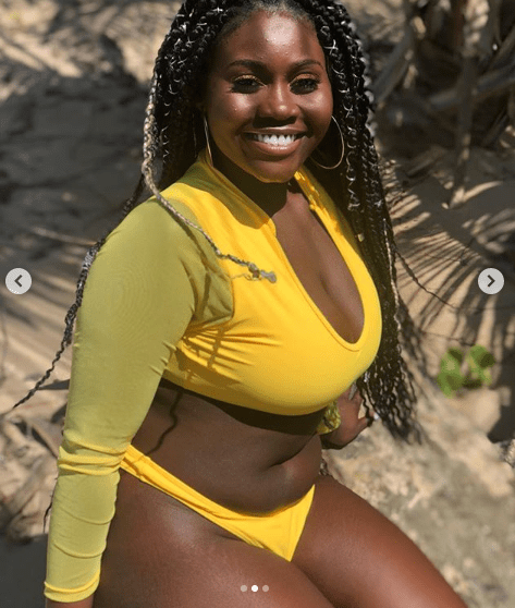 2 3 - Checkout the trending photos of a Nigerian lady causing a stir on Instagram