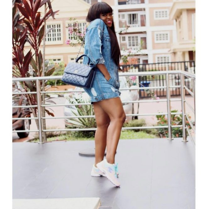 3487B17D 9AE8 4D9E 9D8F BA8A92860DB7 - [Photos]: Funke Akindele-Bello shares sexy new photos