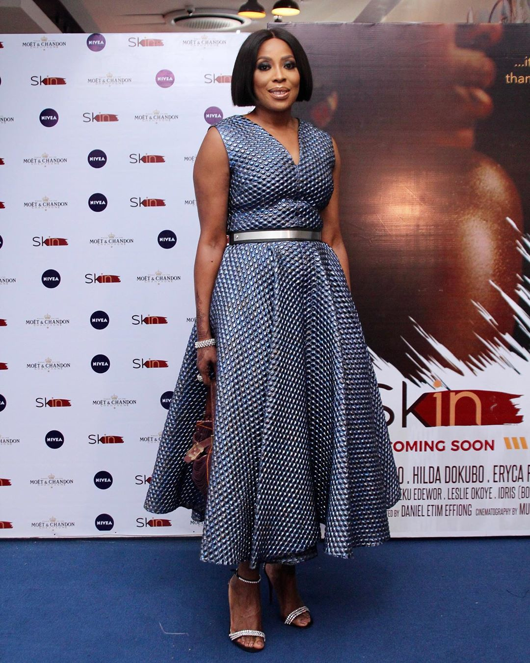 "5 - Omotola Jalade-Ekeinde, Mo Abudu, others spotted at the Premiere of Beverly Naya's Documentary ""Skin"""