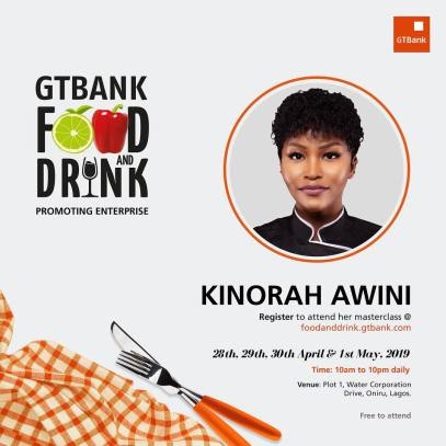 55811540 605010573328794 2848676957649981814 n - More Culinary Experts Announced for the GTBank Food and Drink Festival Masterclass