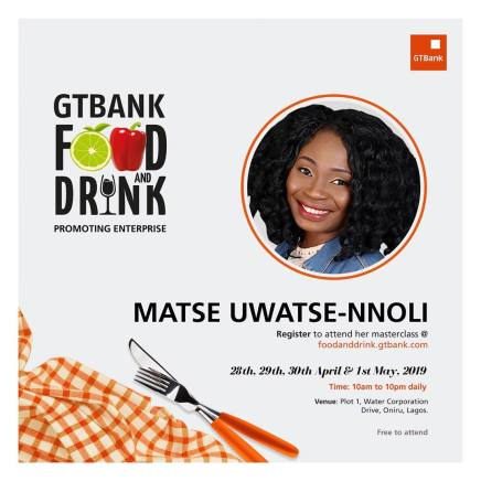 56260415 113777169814352 5092617596378336920 n - Countdown to the GTBank Food and Drink Masterclass: More Culinary Experts Announced