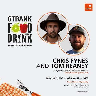 56492675 619823681814229 370390363946237555 n - More Culinary Experts Announced for the GTBank Food and Drink Festival Masterclass