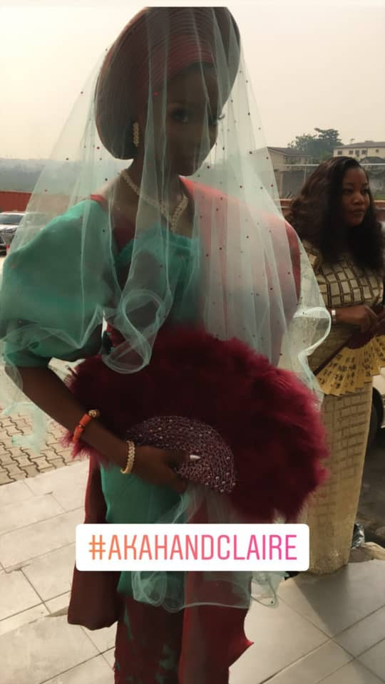 5cab428a4d5db - [Photos]: Actor Akah Nnani's wedding to his sweetheart Claire Idera