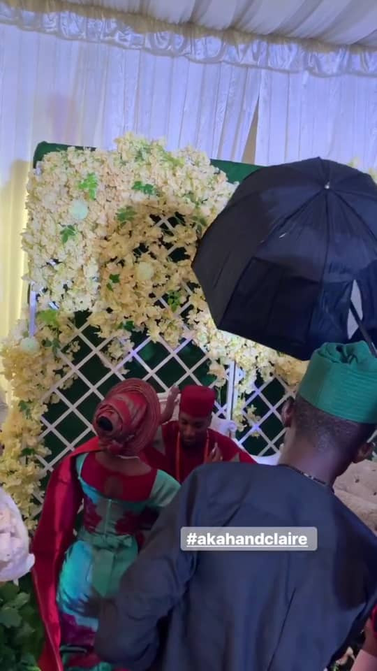 5cab429b712e7 - [Photos]: Actor Akah Nnani's wedding to his sweetheart Claire Idera