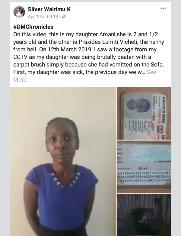 5cbd874692e5c - Nanny caught on tape beating sick child with carpet brush for throwing up