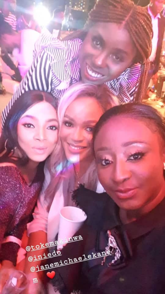 5cbea9a1a3e7b - [Photos]: Toke Makinwa, Mercy Aigbe, others attend Ini Edo's birthday party