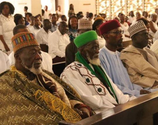 5cc2dbc37ecd1 - [Photos]: Ghana's Chief Imam attends church to celebrate his 100th birthday