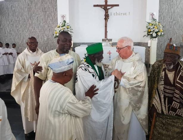 5cc2dbd61137d - [Photos]: Ghana's Chief Imam attends church to celebrate his 100th birthday