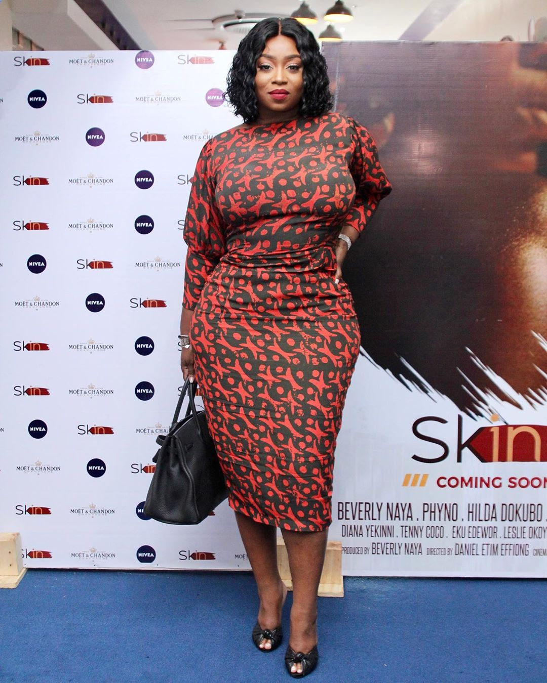 "6 - Omotola Jalade-Ekeinde, Mo Abudu, others spotted at the Premiere of Beverly Naya's Documentary ""Skin"""