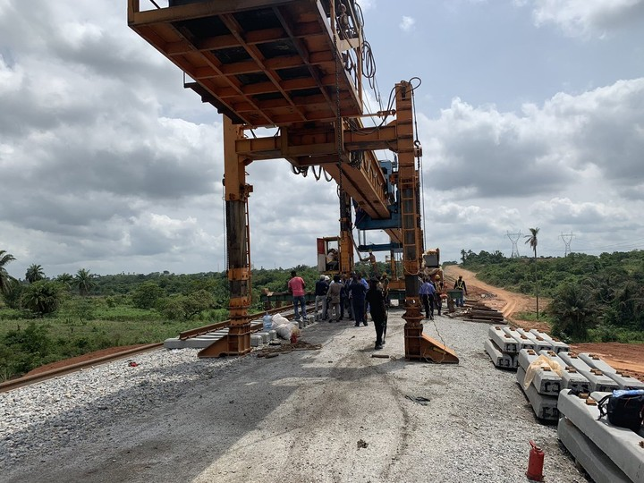 9143377 d3n9y1wkaan7cn jpeg949e1a4329d03e5959f1df5f459b5213 - Amaechi Visits Lagos-Ibadan Railway Construction Site [See Pictures]
