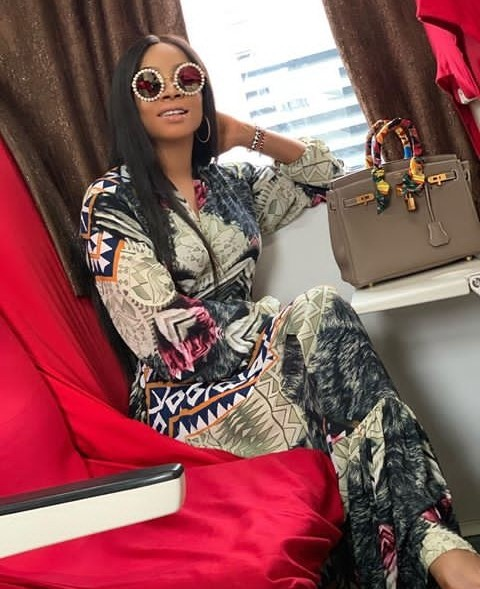 9177012 cymera20190413185122 jpegb491ab93b1711f92c8bce2ab2b6eb672 - [Photos] Toke Makinwa Gushes About Train Ride Experience in Nigeria