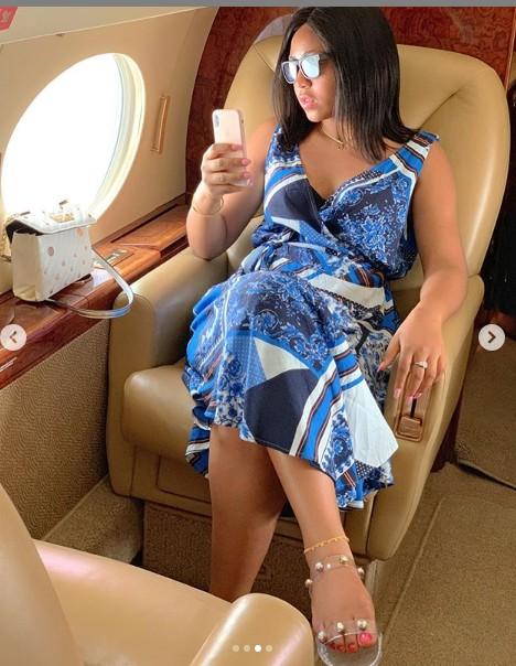 9211544 reginadanielsflashesherengagementringinnewphotosunclesuru3 jpeg4bdfda2ad94f13867228a54aff805de6 - Regina Daniels Flaunts Engagement Ring [Pictures]