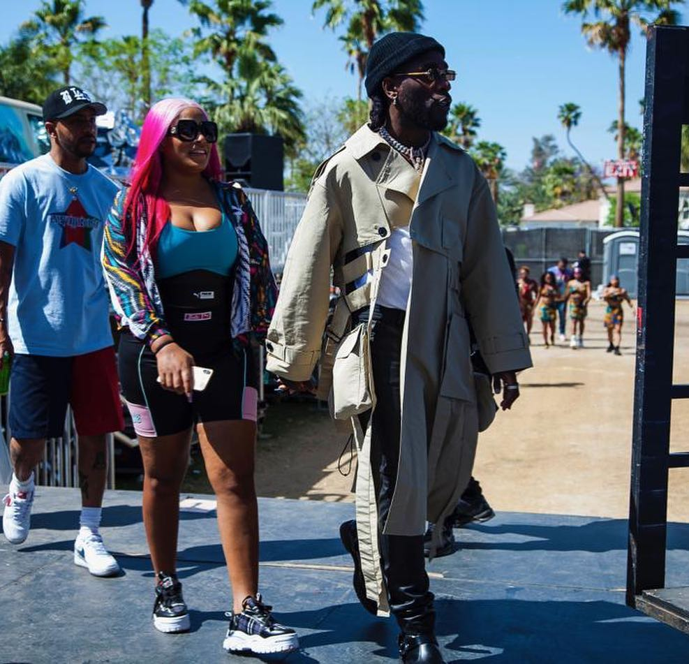 9264530 ee838b8f11c0750fd4efa711e15be385 jpegc5335de923d07eda6102accc3c6f1031 - [Pictures] Stefflon Don and Burnaboy Spotted Together in Chicago