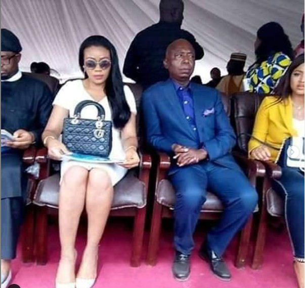 9268965 reginadanielsandhusbandnednwokomaketheirfirstpublicappearanceunclesuru1 jpeg50c7d1c4131d07b6fbe243bbe6855b92 - [Pictures] Actress Regina Daniels Makes First Public Appearance with Husband, Ned Nwoko