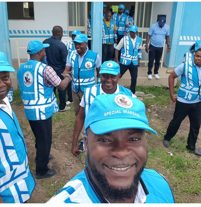 9270390 screenshot20190427194513 jpeg3e443b31d85411305e6df821ea2ab44a - Nollywood Actor Emmanuel Ehumadu Spotted on FRSC Duty [pictures]