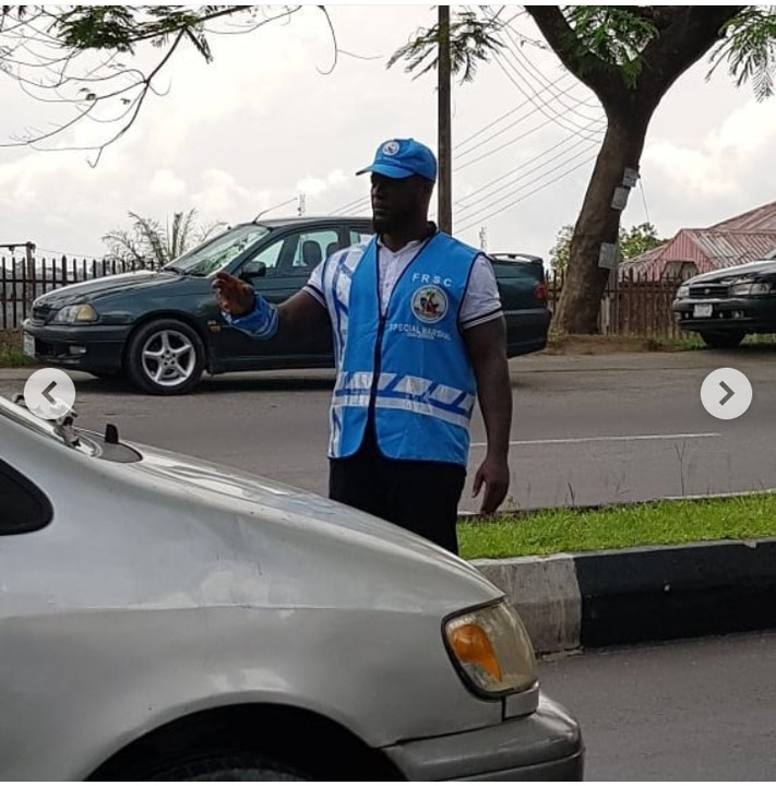 9270392 screenshot20190427194616 jpeg012a2986e2ab8260570189fbb90c9d16 - Nollywood Actor Emmanuel Ehumadu Spotted on FRSC Duty [pictures]