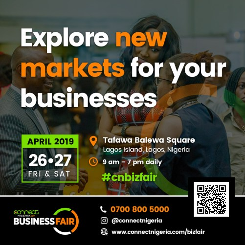 Bizfair2019 SocialMedia Banner 9 2 - All The Connections Your Business Needs Under One Roof: Connect Nigeria