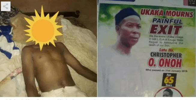 Capture 30 - Man strangles his father to death over his refusal to sell his land for him