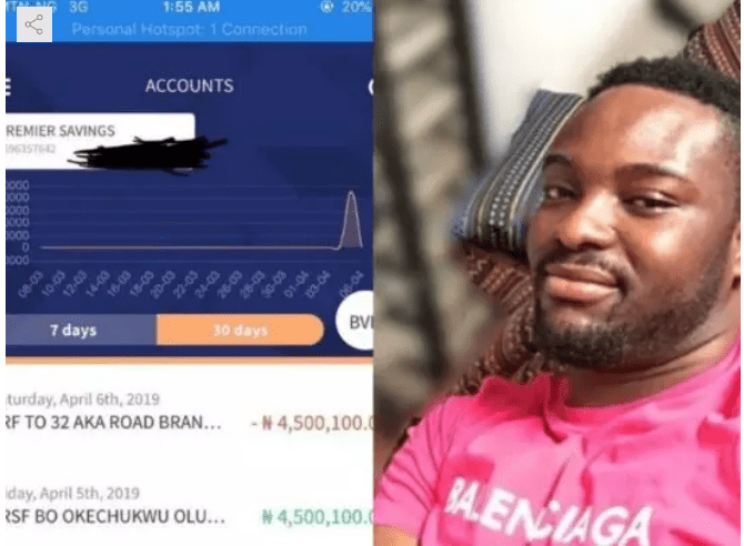 Capture 34 - Nigerian music producer returns N4.5m mistakenly sent to his account