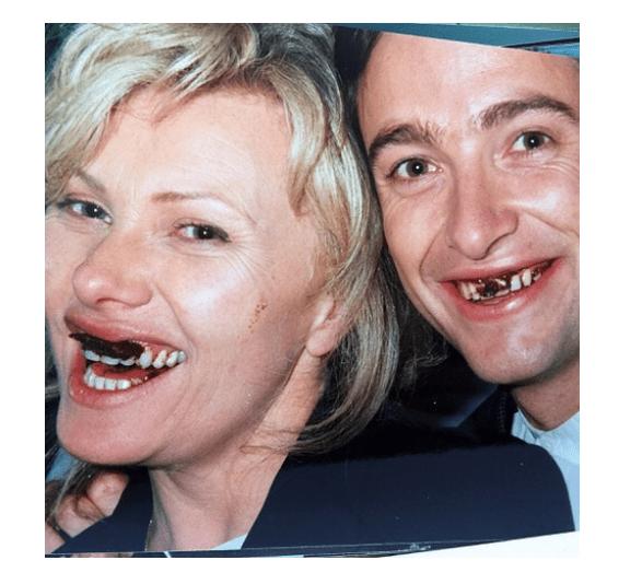 Capture 37 - Hugh Jackman and wife Deborra-Lee Furness celebrate their 23rd wedding anniversary