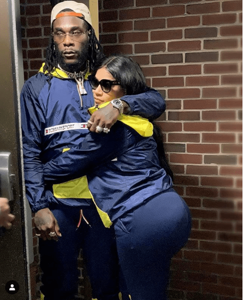 Capture 48 - This photo of Burna Boy an his boo Stefflon Don is all you need to see today