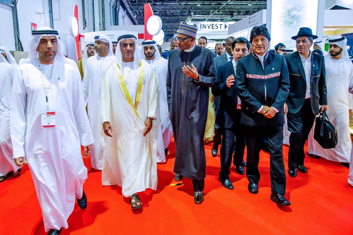 D3oD L5WkAAVc54 - [See Pictures] President Buhari 'chilling' with world leaders in Dubai