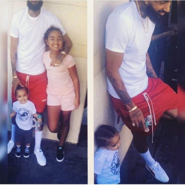 FF66B3F9 B654 40CB 8A05 B400EE9EF250 - [Photo]: See the last photo Nipsey Hussle took with his kids same day he was murdered