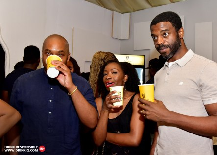 Guests. 2 - Guiness Gold Launches In Style