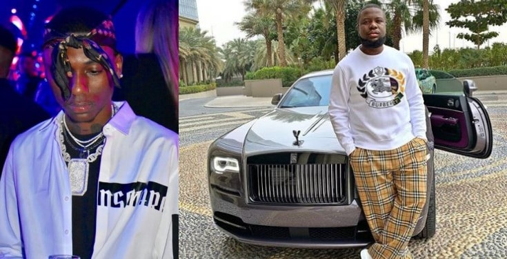 Nigerian big boy Dharmie Richie threatens to expose Hushpuppi and his fake life - [Screenshots]: Nigerian Big Boy Threatens To Expose Hushpuppi Fake Life