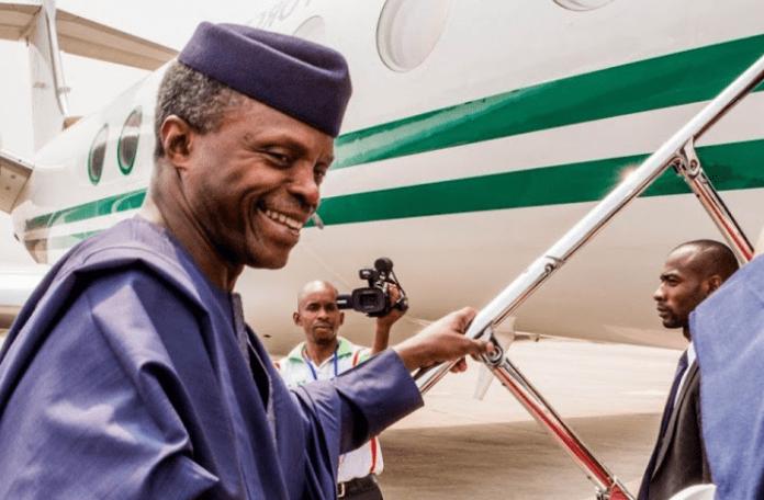 Osinbajo 696x456 5 - VP Osinbajo Departs Nigeria For Rwanda