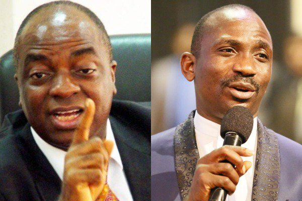 Oyedepo Enenche - Oyedepo And Enenche Make 2019 List Of 100 Most Reputable People On Earth